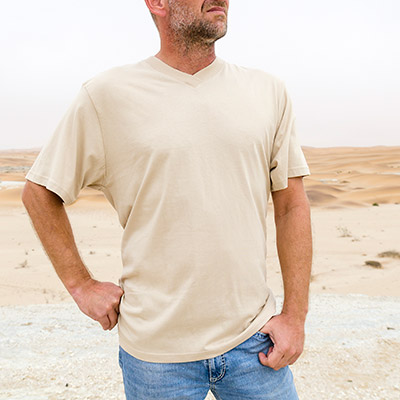 Men Crossover V-Neck